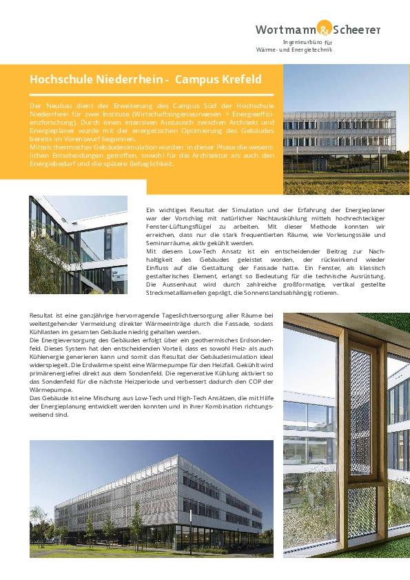 PROJEKT-PDF-RZ- Hochschule Niederrhein Campus Krefeld Süd-thumbnail