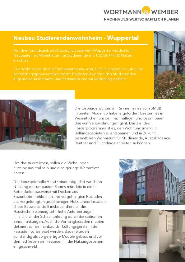 PROJEKT-PDF-HSW Wuppertal - Studentenwohnungen-thumbnail